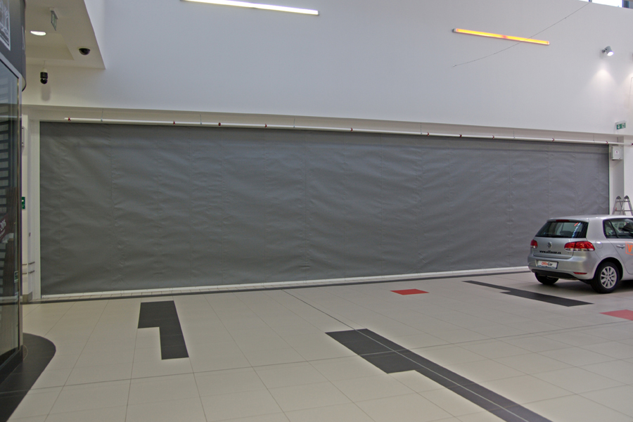 Fire Curtain – Fibreroll E & EW