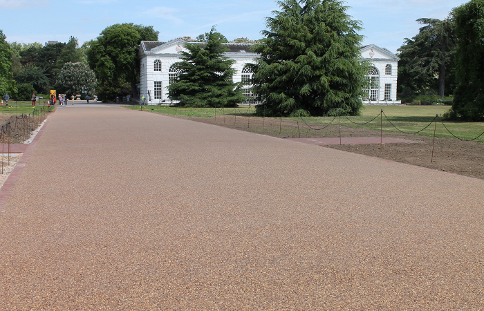The Addagrip range of resin bound surfacing