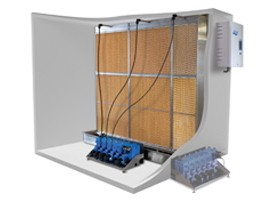Condair ME - a new generation of evaporative humidifier