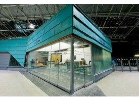 Glass systems for an open and transparent room design