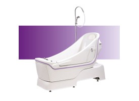 Sentes reclining assistive bath from Gainsborough Specialist Bathing