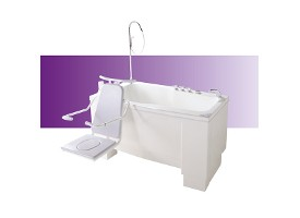 Ascot - Compact Height Adjustable Bath