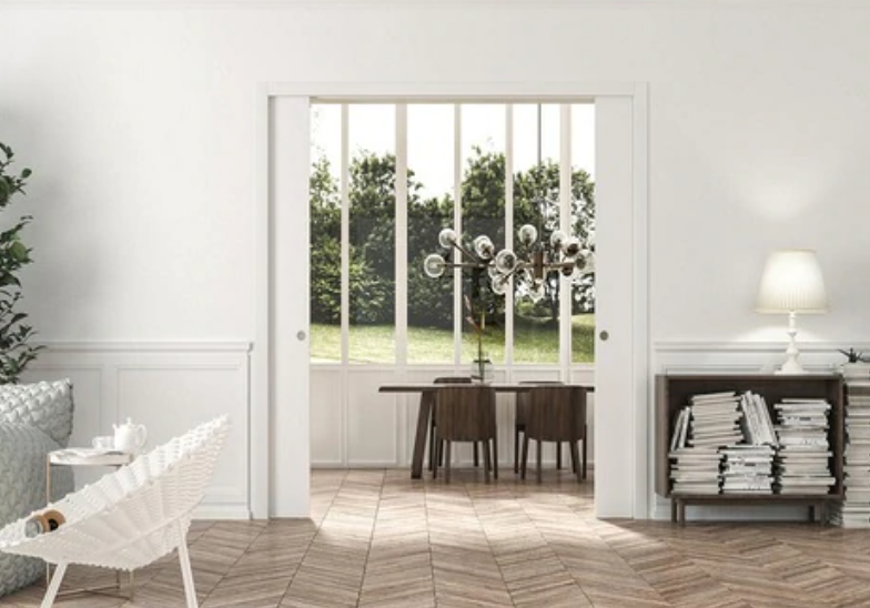 Classic Double Pocket Door System