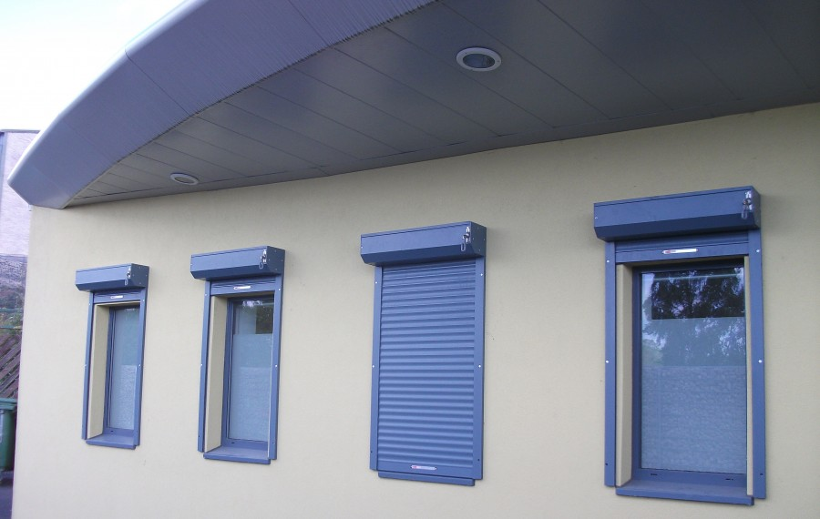SecuriGuard Window Shutters