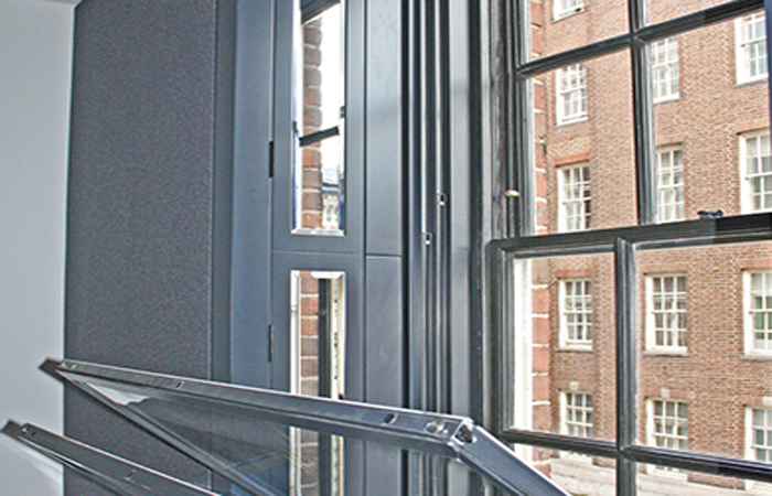 Vertical sliding windows