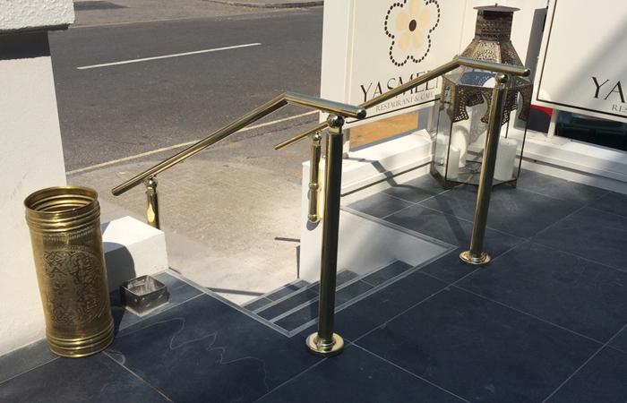 Citadel | Brass Handrail & Brass Balustrade System