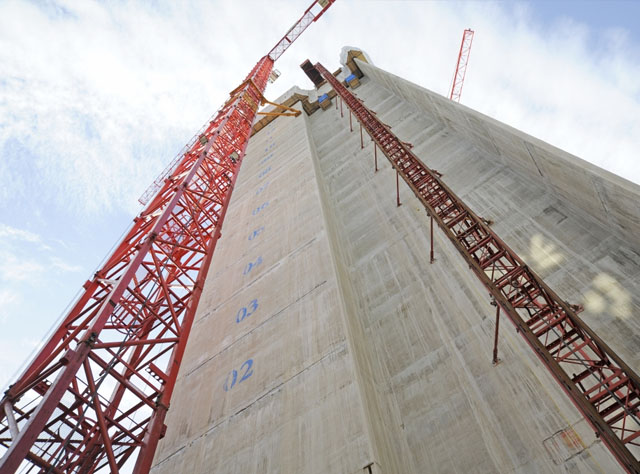 Slipform Process Leaves Concrete Buildings Standing Tall