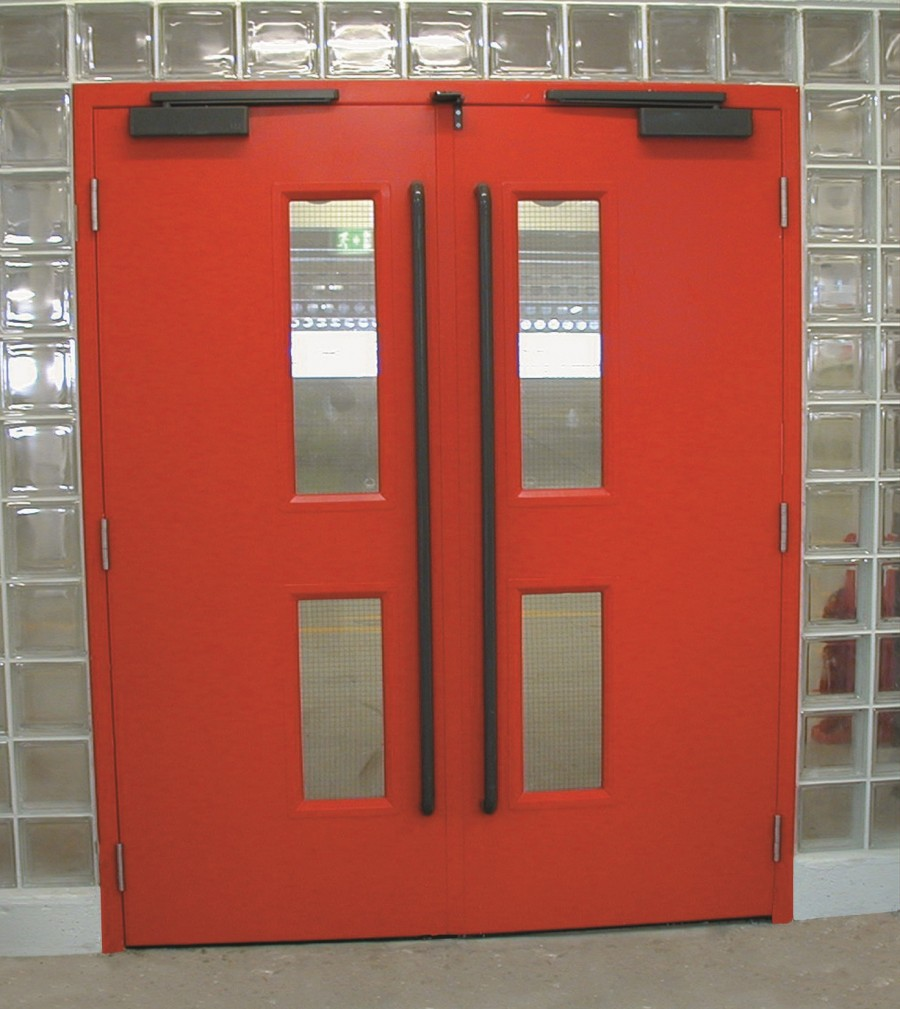 UNIGUARD HINGED STEEL DOORS
