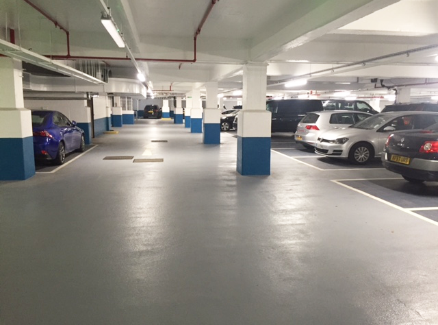 Sika's Quality Waterproof Solution Puts Brake On Deteriorating Car Park Surface