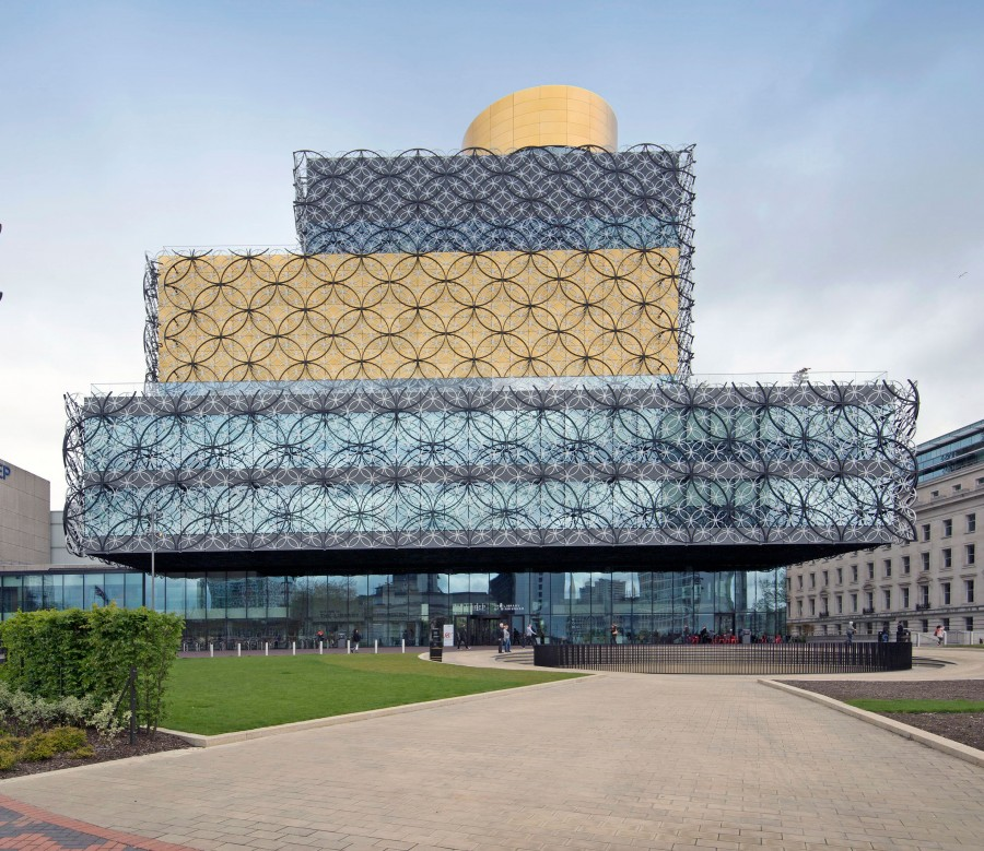 Sika at work: Library of Birmingham