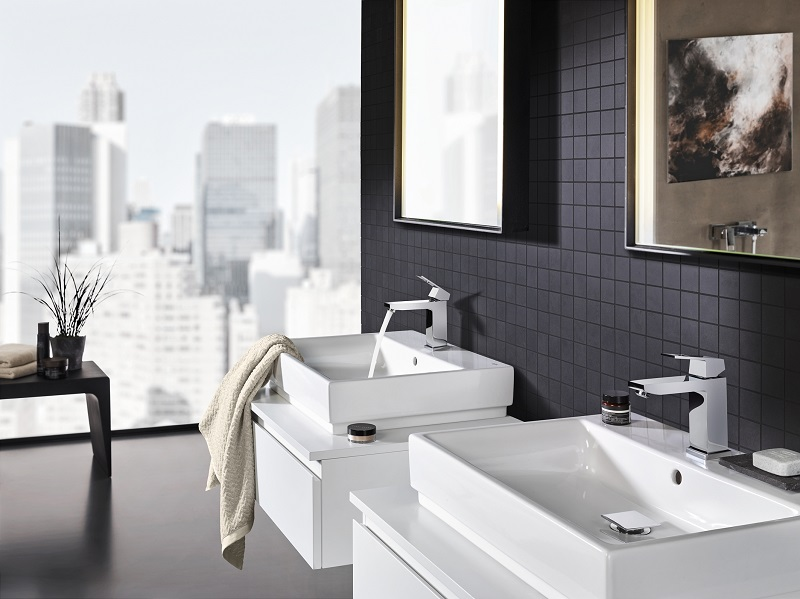 The GROHE Cube Ceramic range offers easy installation