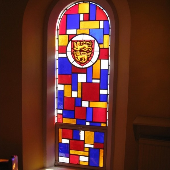 Revitaglaze reduces stained glass sunrays