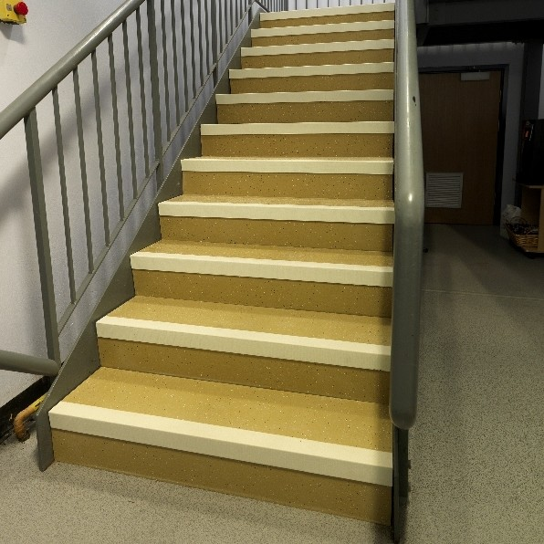 New anti-slip solution for interior staircases and walkways