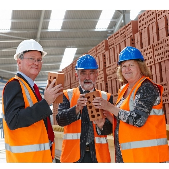 New Ibstock factory builds local community legacy