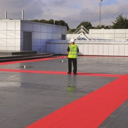 Odourless Kemperol liquid waterproofing and roofing goes on show