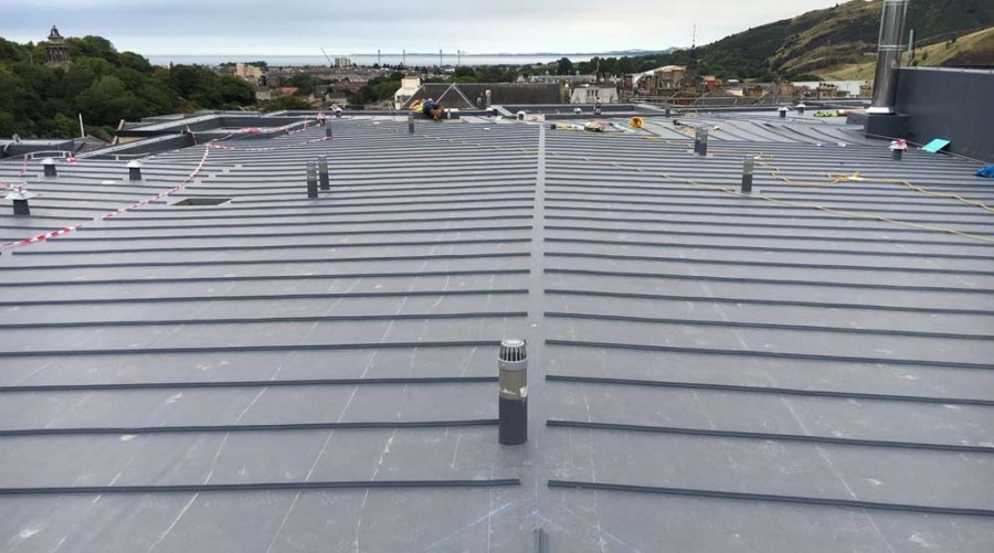 Sika waterproof roof system offers full protection and 'right look' for stylish city hotel