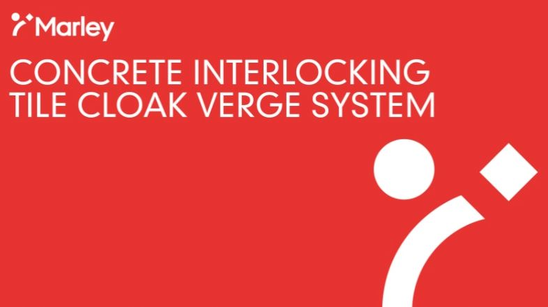 Concrete Interlocking Cloak Verge