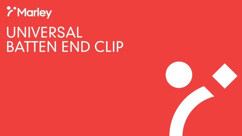 Batten End Clip