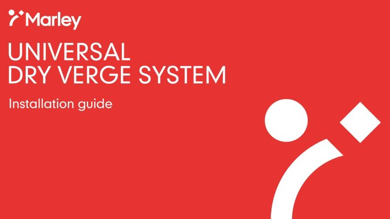 Universal Dry Verge Installation