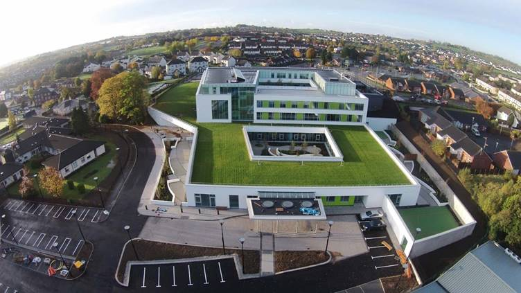 Alumasc waterproofing system protects treatment centre