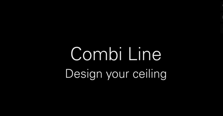 Combi-Line Design Your Ceiling