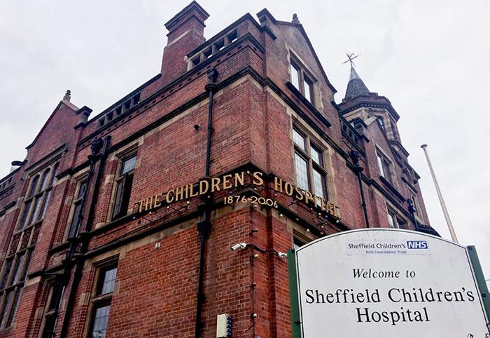 Comelit VIP Securing Sheffield Children's Hospital