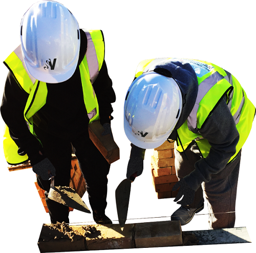 Ibstock donation helps cement skills of construction students