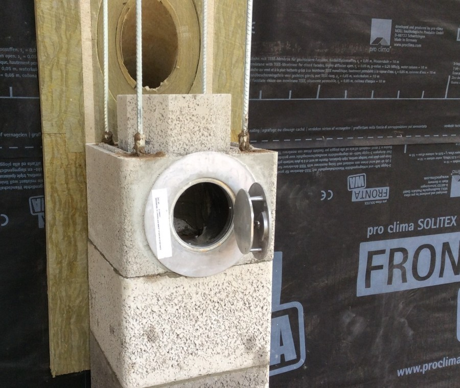 Flue system ticks the boxes for UK timber-frame house-building