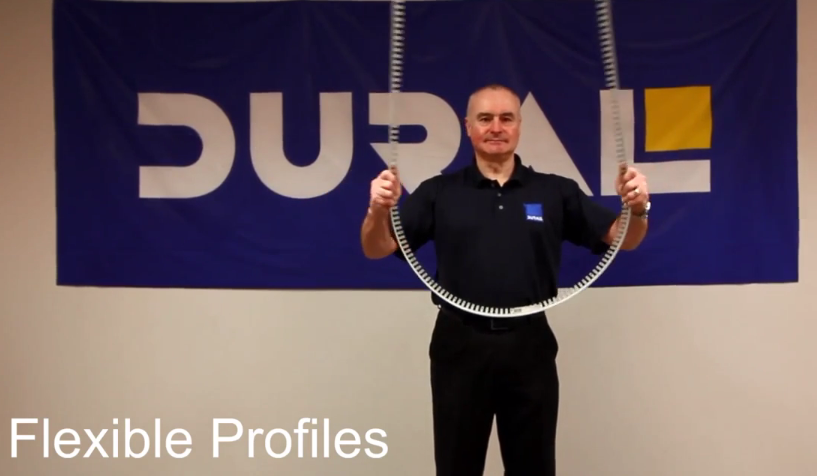 Bending Dural's Flexible Profiles