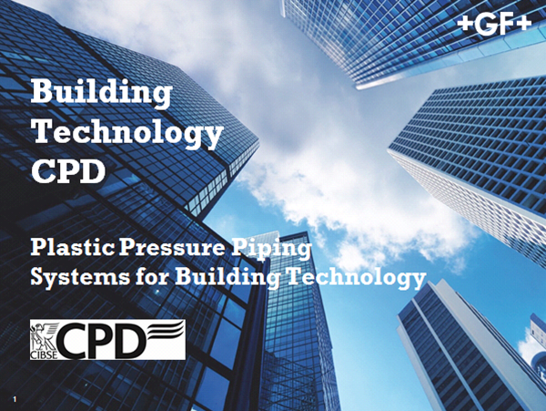 Plastic Piping Systems for Building Technology - CPD