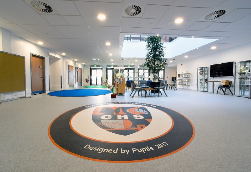 Gerflor supplies flooring for school