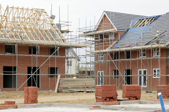 House builders continue to deliver
