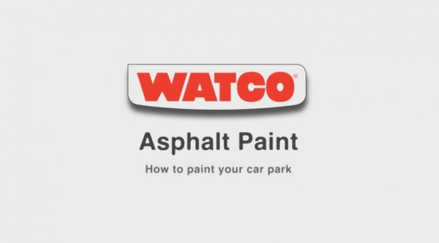 How to paint asphalt or tarmac
