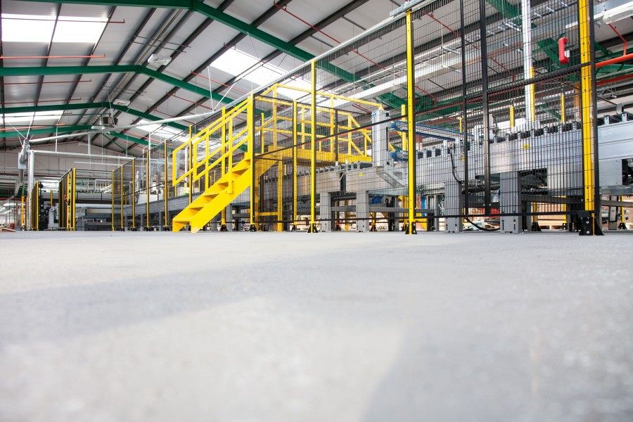 SIKAFLOOR'S QUALITY SURFACE ENSURES PRODUCTION PLANT FUNCTIONS WITHOUT SLIP-UPS