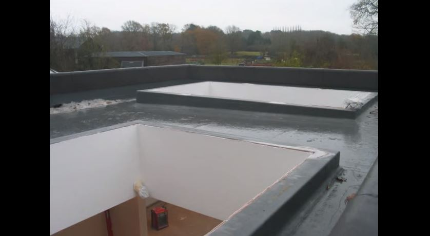 Installation of a Double Hipped & Pyramid Roof skylight