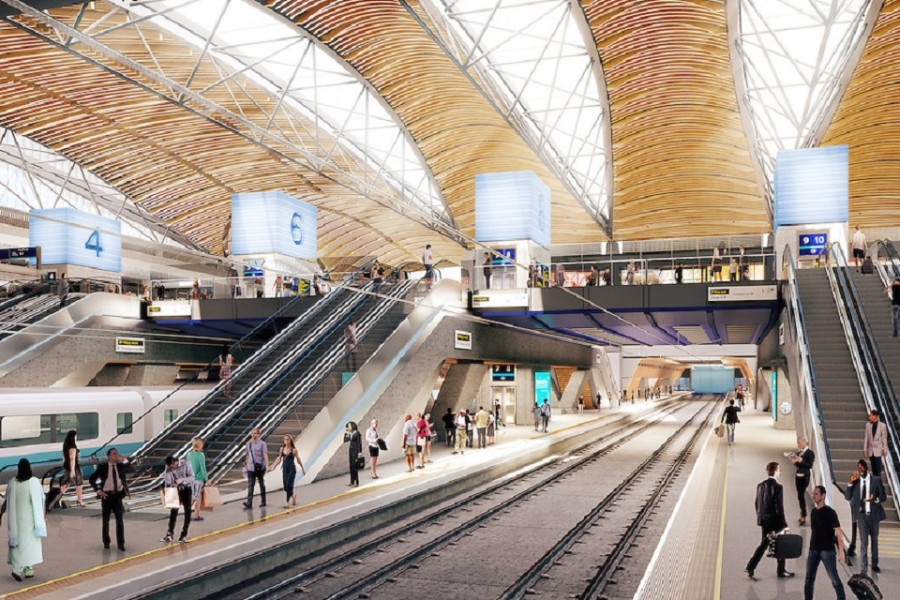 Major HS2 contracts mask a waning construction sector