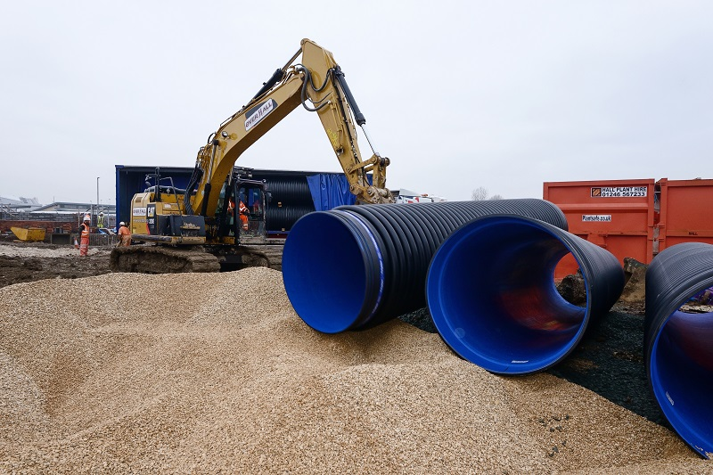 Keepmoat Regeneration goes large with Polypipe's Ridgistorm-XL