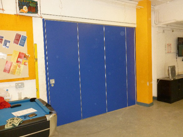 St Bernadette's School Creates Flexible Space with a Folding Wall System!