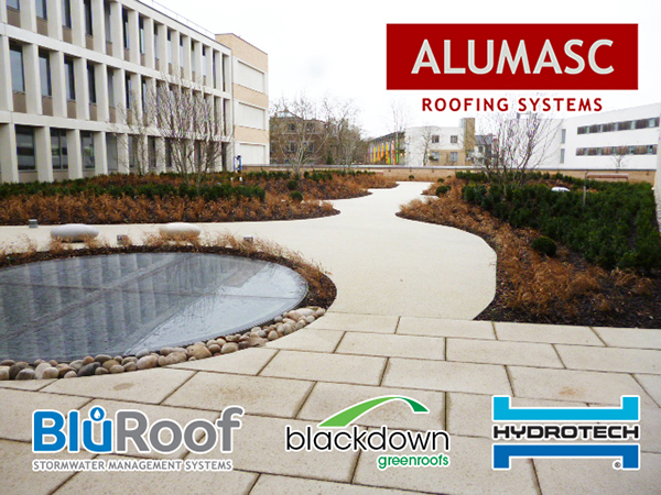 Alumasc's BluRoof and Blackdown Green Roof systems protect Cambridge Assessment's new international HQ