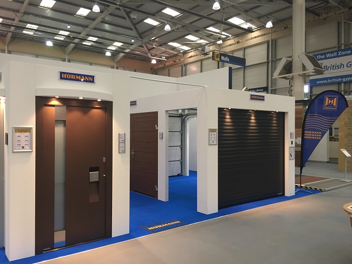 Hörmann doubles size of stand at the National Self Build and Renovation Centre