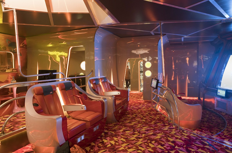 Formica laminate specified for Dream Weaver 9 spaceship
