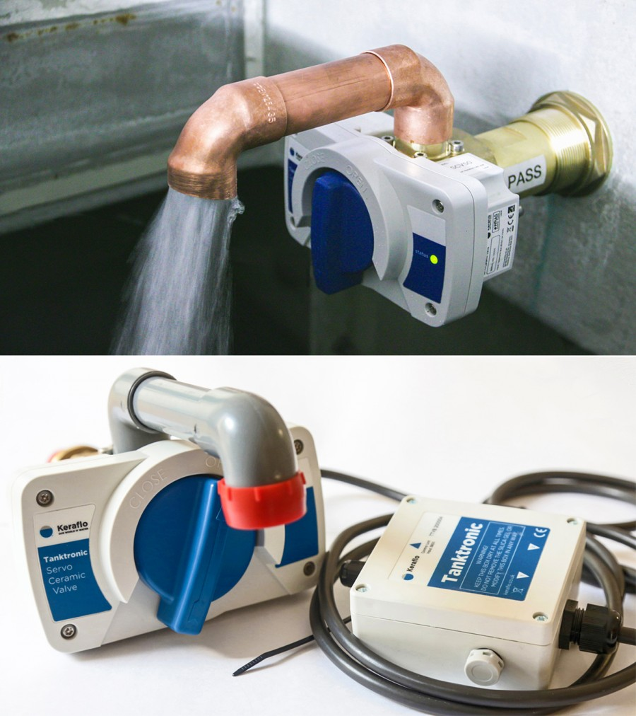 Introducing the Tanktronic SCV filling valve manufactured by Keraflo