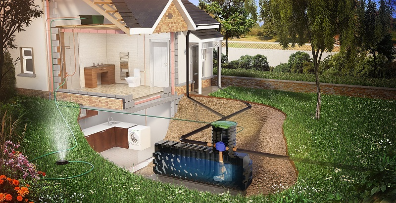 New Kingspan shallow-dig rainwater harvesting system