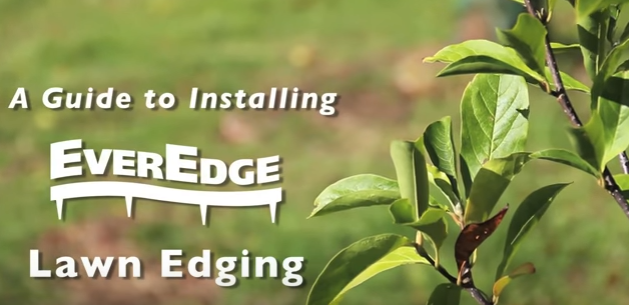 EverEdge - How to install EverEdge lawn  landscape edging