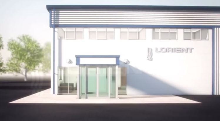 Lorient acoustic, smoke, fire & energy containment seals in a building fly through