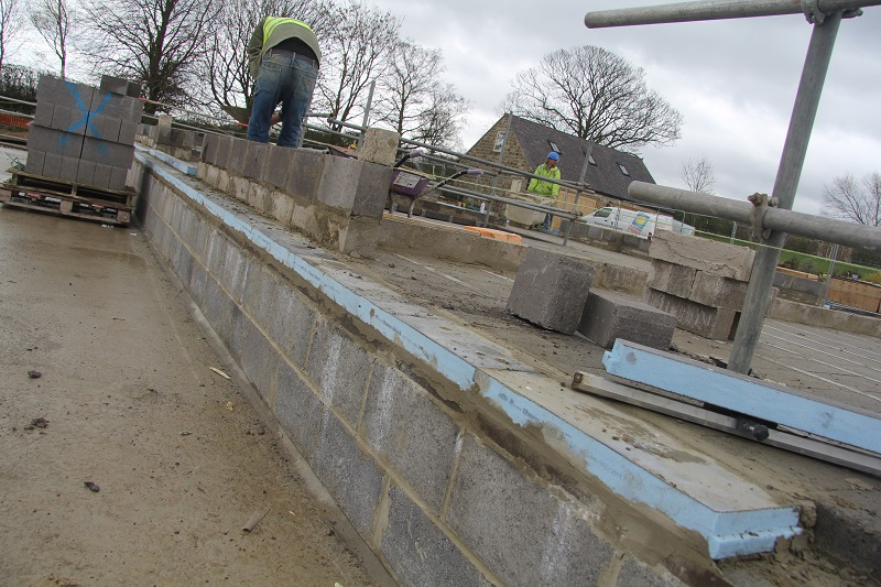 Marmox Thermoblocks tackles thermal bridging around Harrogate home's basement structure