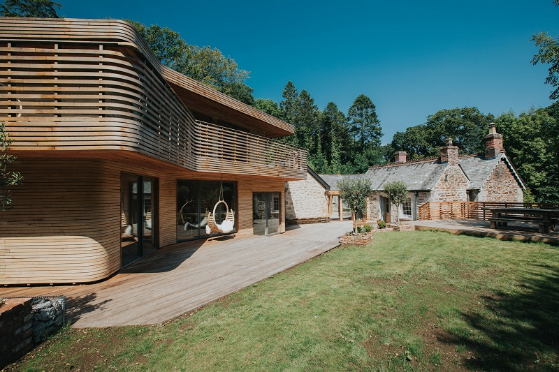Modern Timber House predicts future for housebuilding with wood
