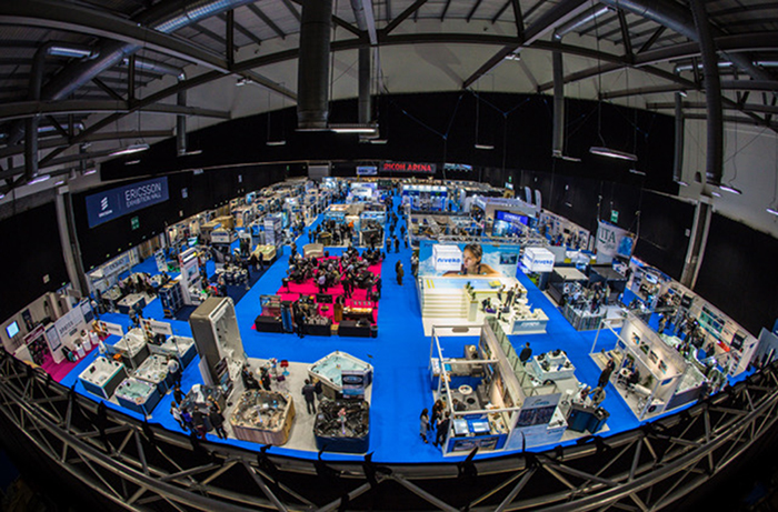 Where else in the UK can you make over a THOUSAND Industry wet leisure contacts?
