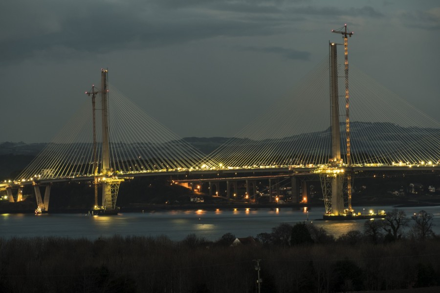 CEMENTING QUEENSFERRY CROSSING'S PLACE IN HISTORY