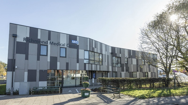 EQUITONE gives medical centre striking new contemporary look